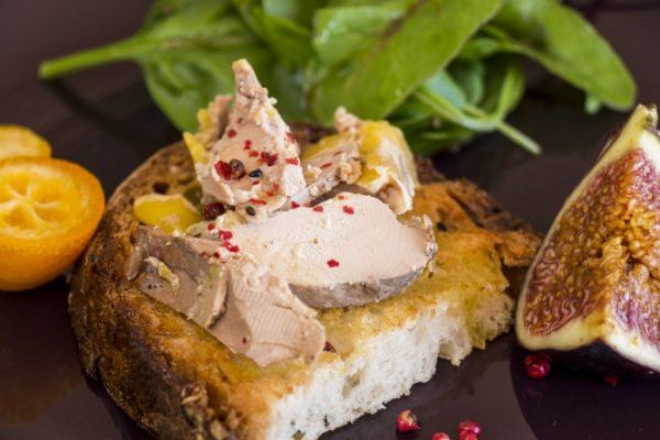 Foie-gras mi-cuit en trilogie - Lassuderie Traiteur