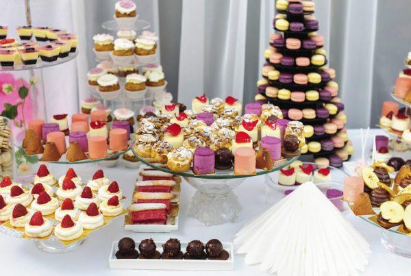 Cascade de gâteaux - Lassuderie Traiteur