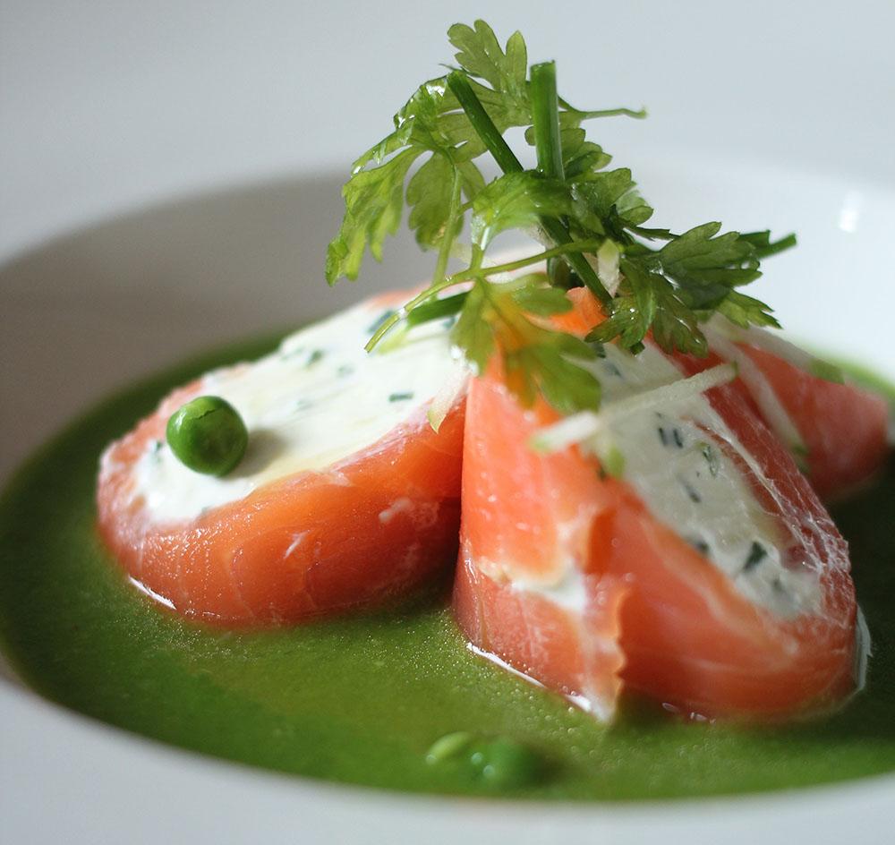 Cannelloni de saumon - Lassuderie Traiteur